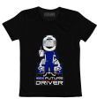 Sparco Future Driver T-Shirt / Black